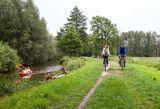 Radeln entlang der Spree, Foto: Peter Becker, Lizenz: Peter Becker