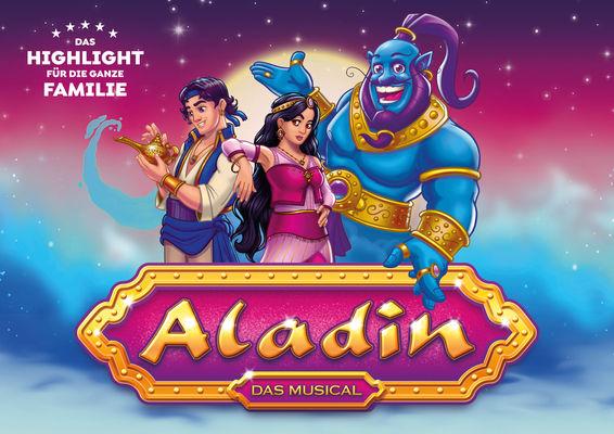 Aladin - das Musical in Schwedt, Foto: Theater Liberi, Lizenz: Theater Liberi