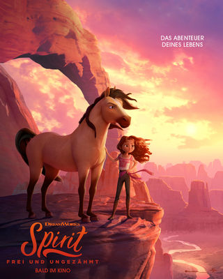 Spirit - Plakat, Foto: Universal Pictures International Germany GmbH, Lizenz: Universal Pictures International Germany GmbH