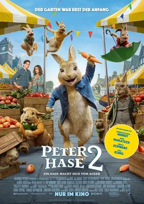 Peter Hase 2 - Plakat, Foto: Sony Pictures Entertainment, Lizenz: Sony Pictures Entertainment