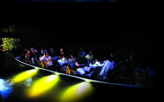Spreewälder Nachtlicht-Kahnfahrt