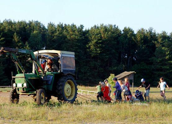 Bioerlebnistag für Ferienkinder, Foto: Bio Ranch Zempow