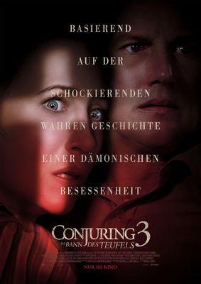 Conjuring 3 - Plakat, Foto: Warner Bros. Film GmbH, Lizenz: Warner Bros. Film GmbH
