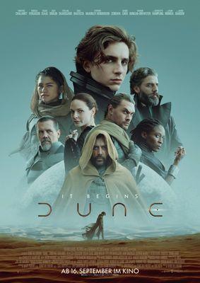 Dune - Plakat, Foto: Warner Bros. Film GmbH, Lizenz: Warner Bros. Film GmbH