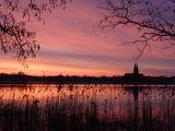 Fontanestadt Neuruppin vom Wasser aus, Foto: Tourismusverband Ruppiner Seenland e.V., Lizenz: Tourismusverband Ruppiner Seenland e.V.