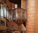 Orgel und Kanzel, Foto: privat, Lizenz: Kirchengemeinde