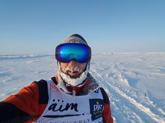Nordpolmarathon, Foto: Robby Clemens