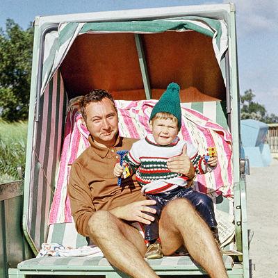 Urlaub in der DDR Strandkorb_Foto: Privat