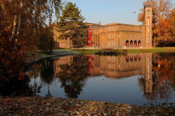 Außenansicht des Kunstmuseums, Foto: Marlies Kross, Lizenz: Brandenburgische Kulturstiftung Cottbus-Frankfurt (Oder)