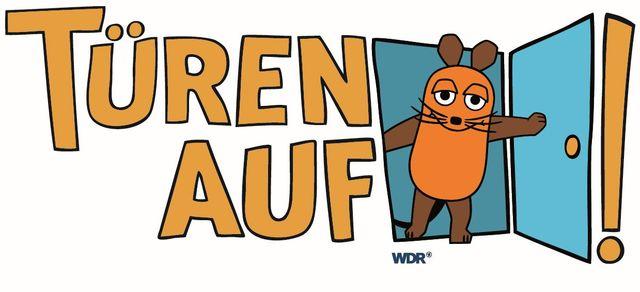 Logo Türöffnertag WDR, Foto: WDR, Lizenz: WDR