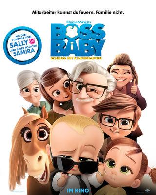 Plakat - Boss Baby 2 - Schluss mit Kindergarten, Foto: Universal