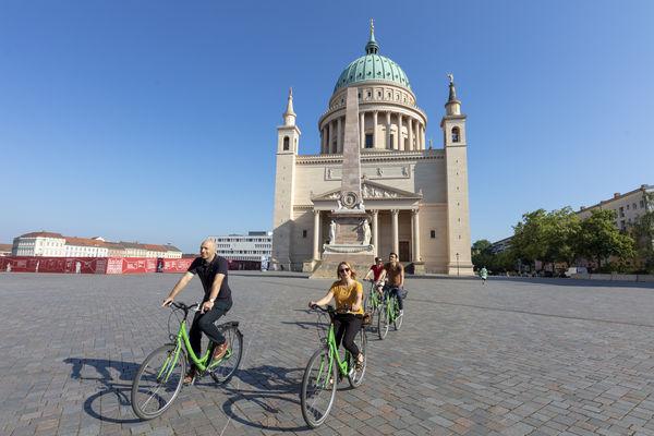 Radtour durch Potsdam, Foto: André Stiebitz, Lizenz: PMSG Potsdam Marketing und Service GmbH