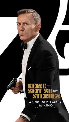 Plakat - Keine Zeit zu sterben, Foto: Universal Pictures International Germany GmbH