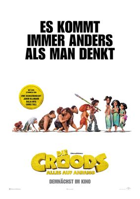 Die Croods 2 - Plakat, Foto: Universal Pictures International Germany GmbH, Lizenz: Universal Pictures International Germany GmbH