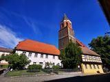 Die Aussichtsplattform der Calauer Stadtkirche befindet sich in 32 Metern Höhe. , Foto: Jan Hornhauer, Lizenz: Stadt Calau
