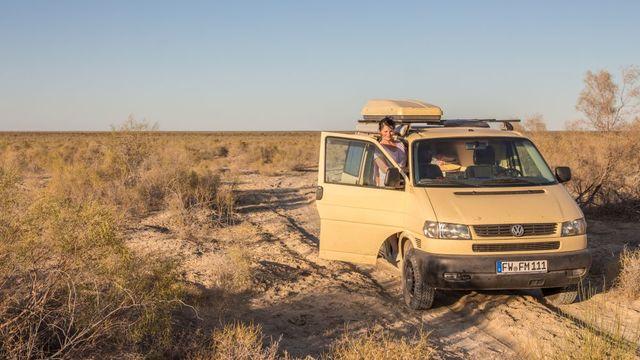 Camp am Aralsee, Foto: Frank Moerke