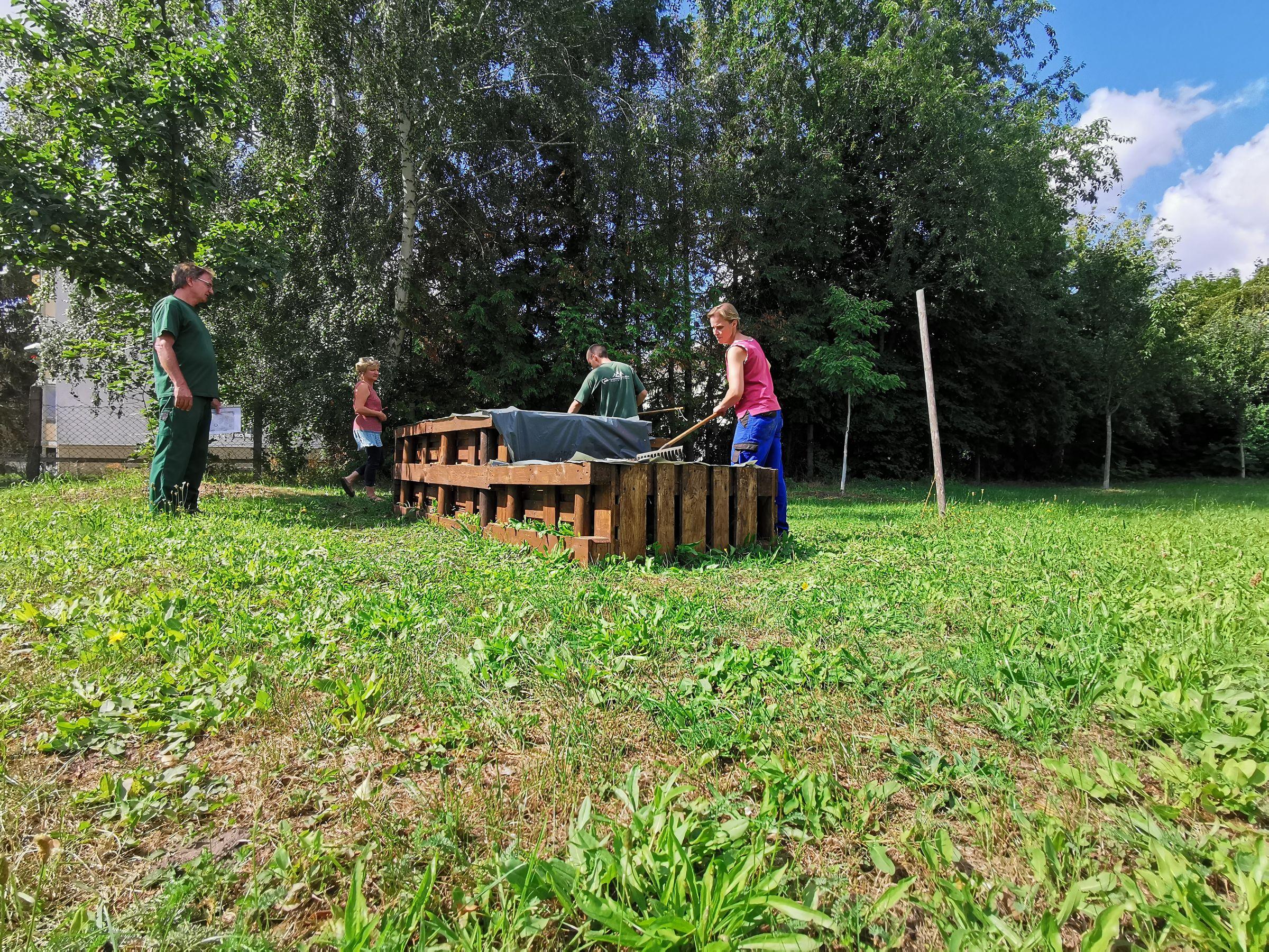 Gemeinschaftsgarten KulturENERGIE, Foto: Emma Siegert, Lizenz: LÜBBENAUBRÜCKE