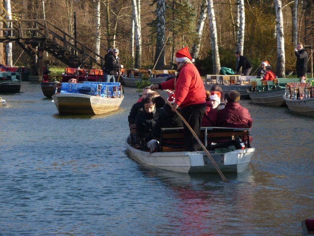 Spreewaldweihnacht - Winterkahnfahrt, Foto: Großer Spreewaldhafen Lübbenau