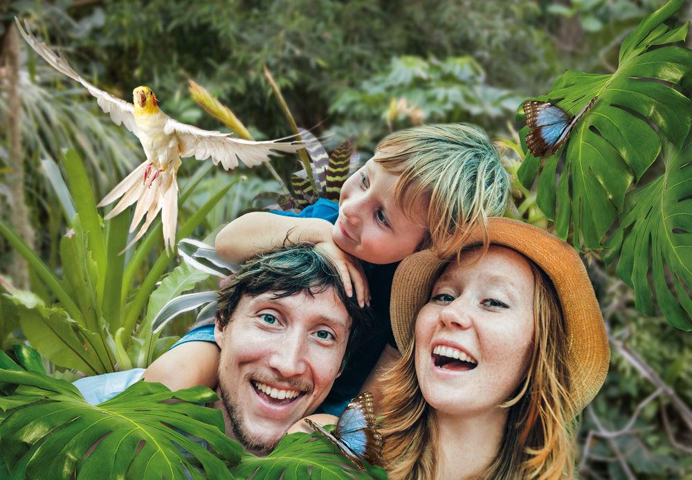 Familie, Foto: Illustration S. Stich, iStockphotogalitskaya, Lizenz: Biosphäre Potsdam
