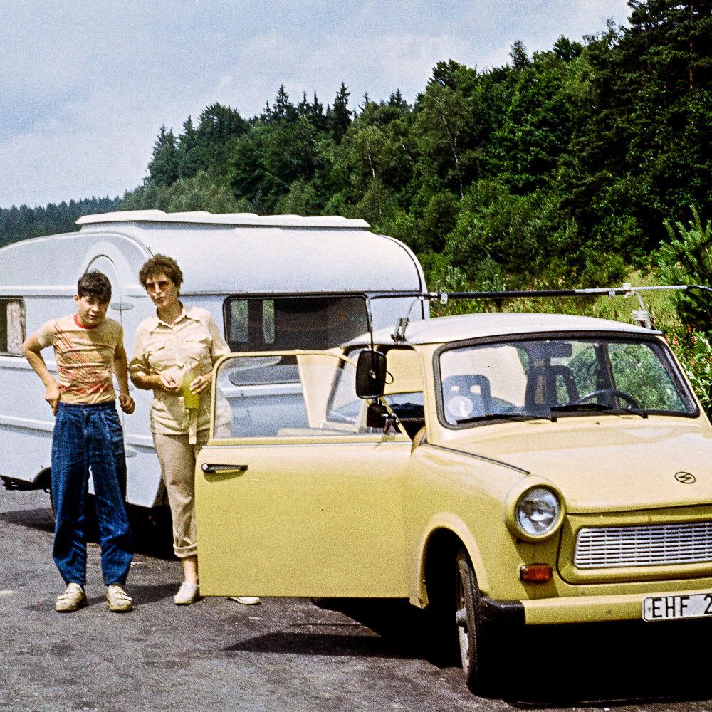 Urlaub in der DDR_Wohnwagen Foto: Privat