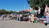 Trödelmarkt in Templin