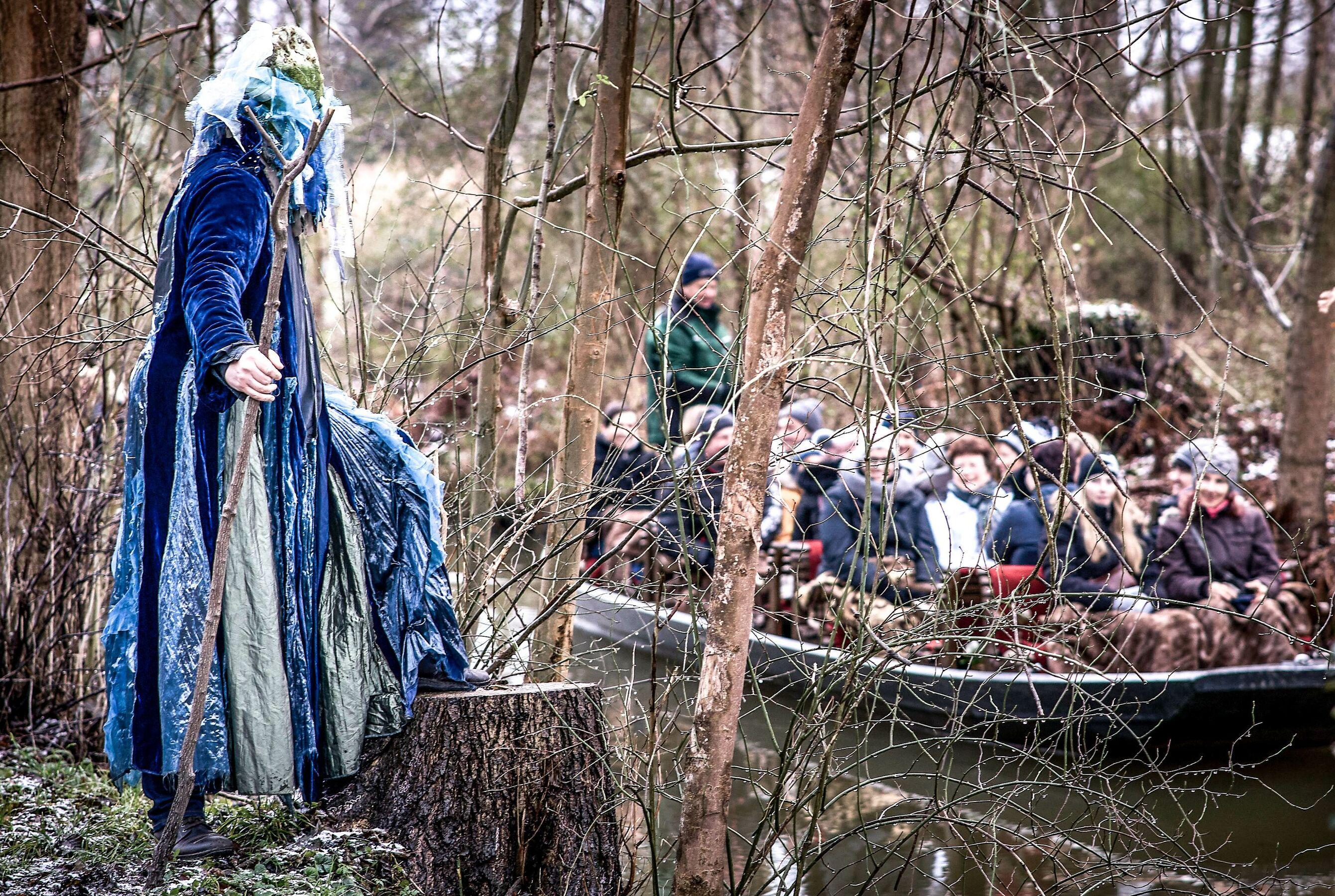 Advents-Theater-Kahnfahrt, Foto: Kahnfährmannsverein der Spreewadldfreunde e.V.